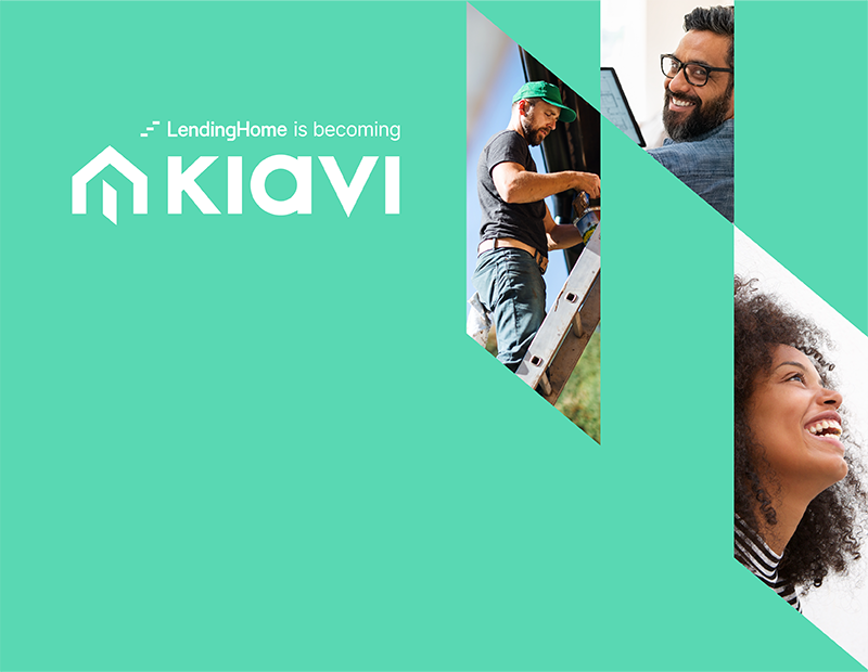 A Kiavi branded banner
